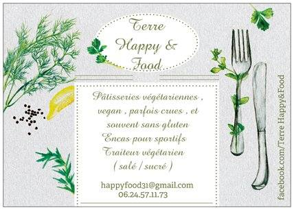 Toulouse Restaurant Bio Terre Happy & Food